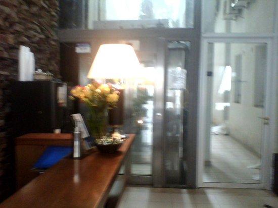 Aires del Rosario Apart Hotel : recepción