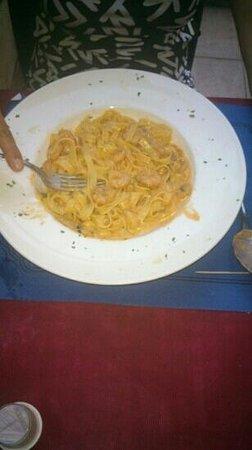 Restaurante Venezia Da Luigi: tagliolini con gambero