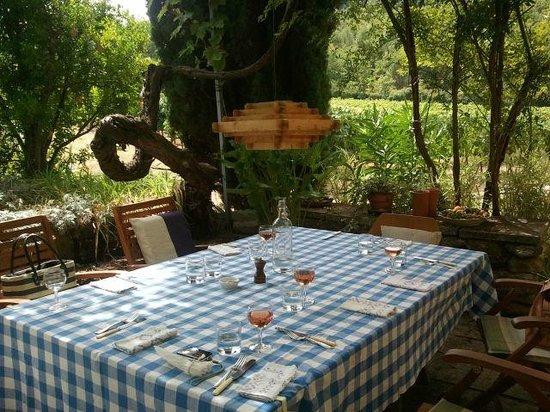 Domaine La Garelle: lunch con vinos de La Garelle
