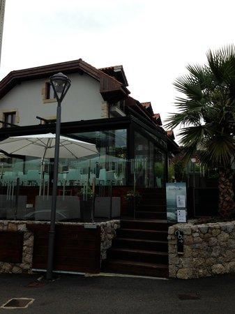 Tinas de Pechon: Vista del Hotel