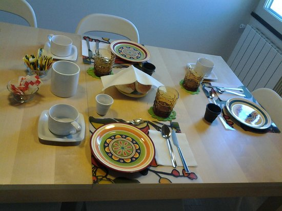 B&B Anaka: sala colazione