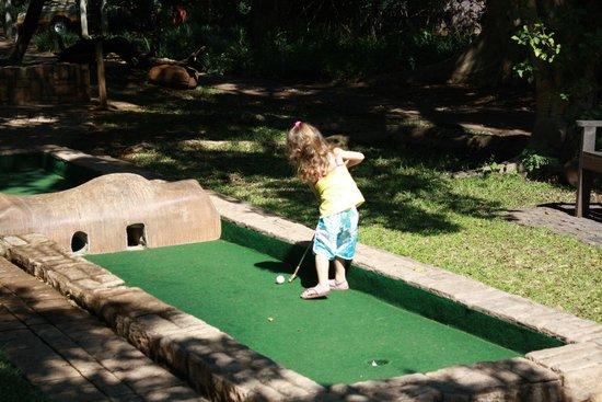 Ngwenya Lodge: Mini-Golf