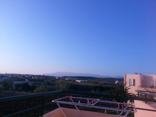 Alonia Apartments: View from the balcony
