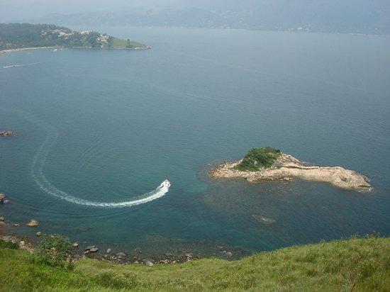 Vistabela Resort: Ilhota de Itaçucê, ponto de mergulho