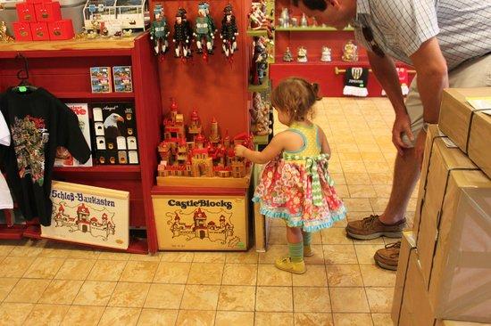 Stefans Wine Paradise: Fun castle blocks