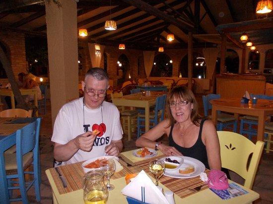 Roussos Restaurant: Romantic dinner at Roussos