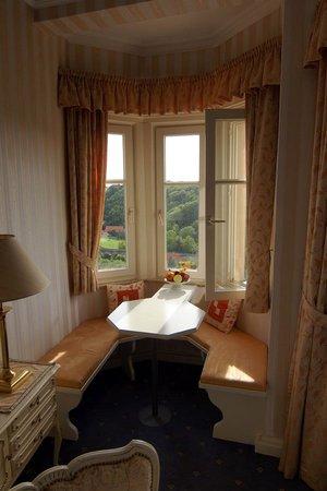 Hotel Goldener Hirsch : The corner nook