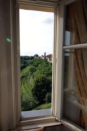 Hotel Goldener Hirsch: Our view from the room