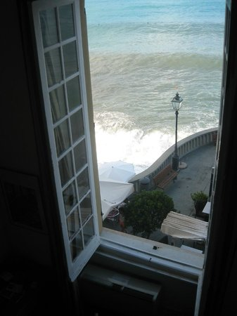 Hotel Casmona: our room window