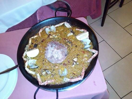 Sa Cranca: Paella de Cranca