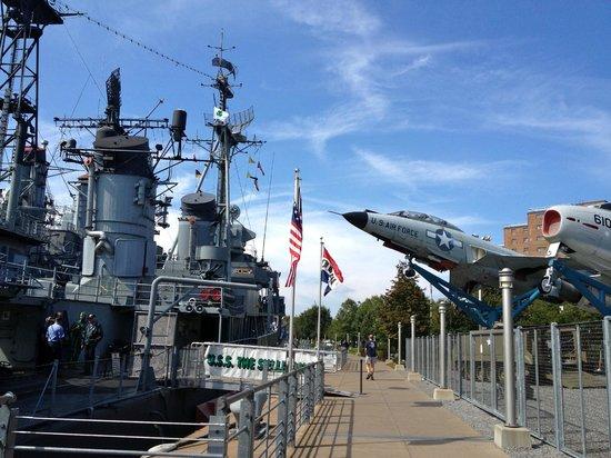 Buffalo, NY: View of the Naval park