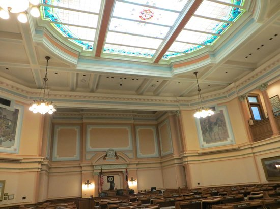 Wyoming State Capitol: One of the rooms