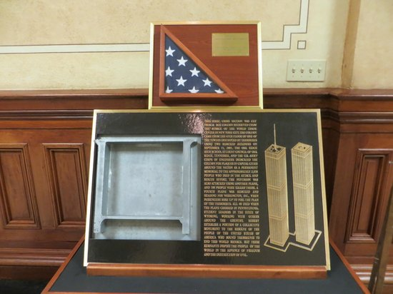 Wyoming State Capitol: Tribute to the heros of the World Trade Center