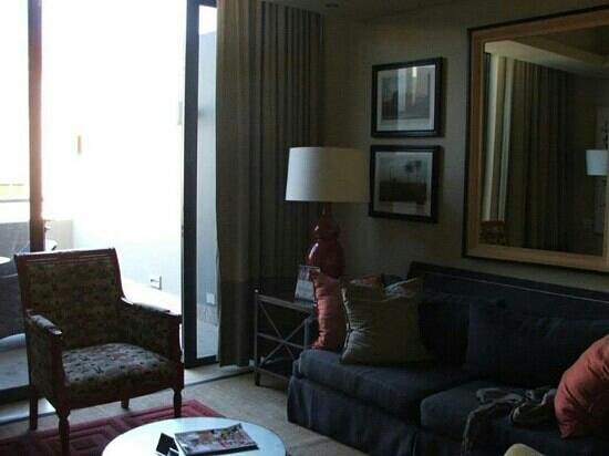 Royal Palm Hotel: living