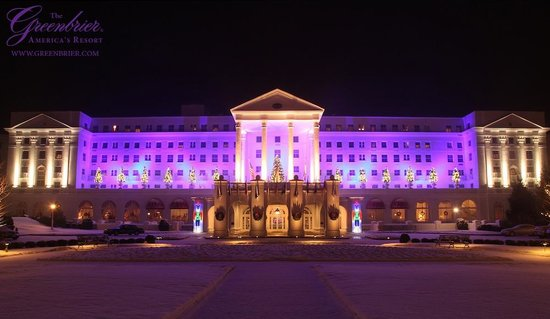 White Sulphur Springs, WV: Christmas at The Greenbrier