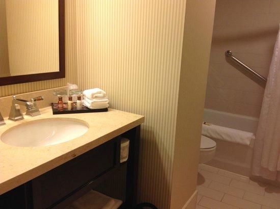 Sheraton Hotel Newfoundland: Bathroom