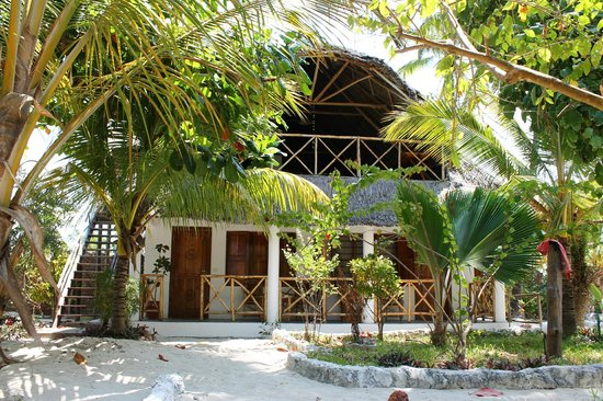 Muba guest house: View of the Guest House