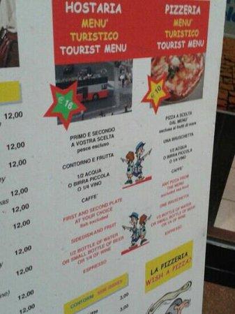 Orsetto SNC: menu turistici davvero convenienti