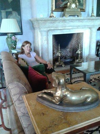 Villa Padierna Palace Hotel: Salon