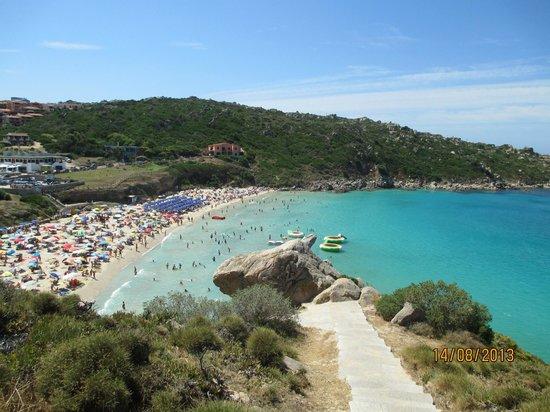 Hotel Sandalion : spiaggia Rena Bianca