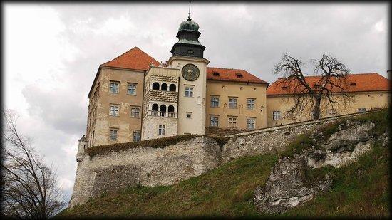 Pieskowa Skala Castle : widok od Maczugi Herkulesa
