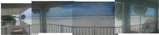 Carousel Inn on the Beach: View from room 144