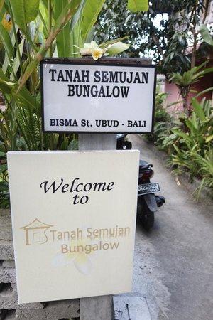 Tanah Semujan Ubud: Eingang