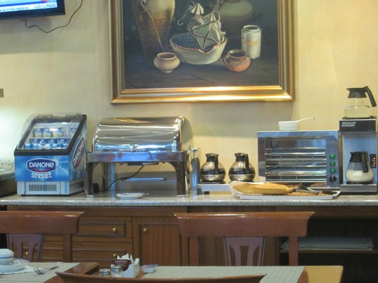 Hotel Dauro Granada: Breakfast buffet