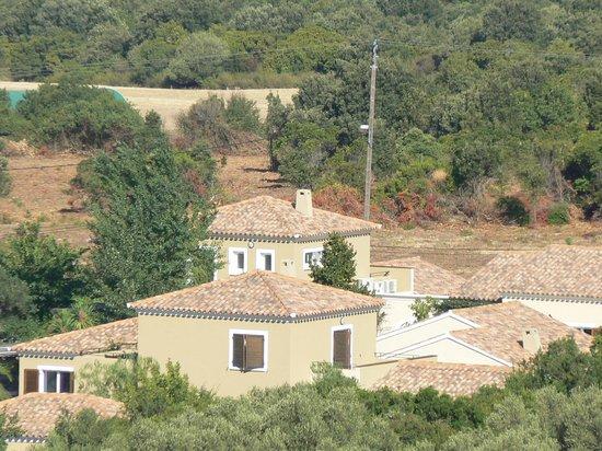 E Caselle villas hôtelières : vue de la résidence