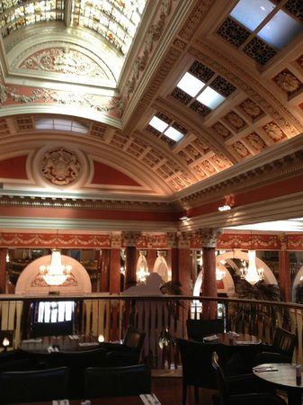 The Bank on College Green: The Bank - ceiling & skylights