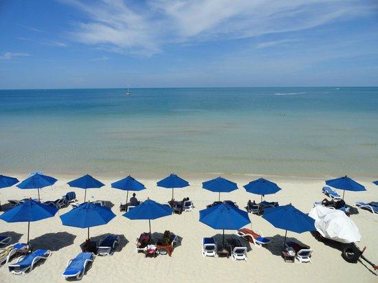 Samui Resotel Beach Resort: Spiaggia dell'hotel