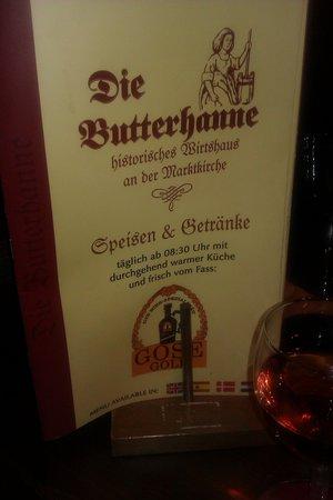 Die Butterhanne: average