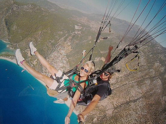 blue lagoon - Picture of Reaction Paragliding, Oludeniz ...