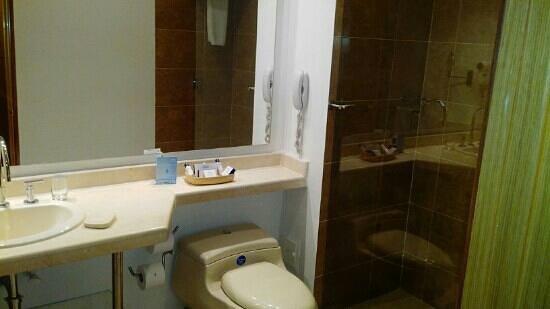 Dann Norte Hotel: Baño habitación