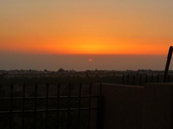 Anarvagos, Chipre: Sunset