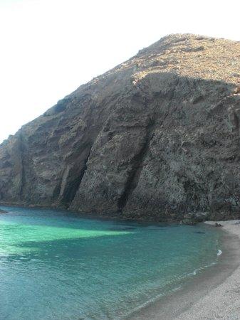 Playa de los Muertos : Calita tras la piedra