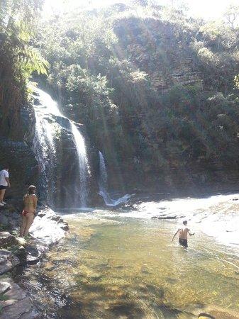 Carrancas, MG: Cachoeira do Complexo da Zilda