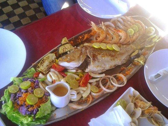 Al Capone Restaurant: pesce freschissimo e cucinato all'italiana, senza spezie, solo olio e limone
