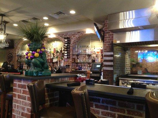 Clarion Inn Bar Area