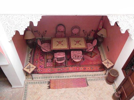 Riad Karim : Breakfast/Diningroom