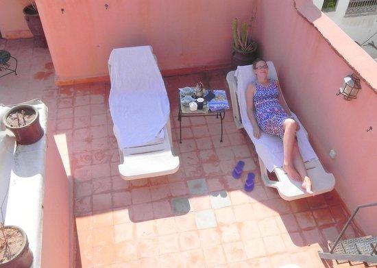 Riad Karim : Roof Terrace