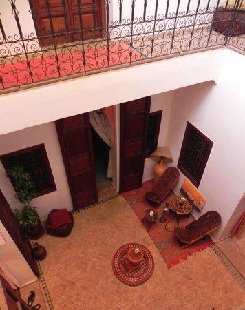 Riad Karim : Inner Courtyard room