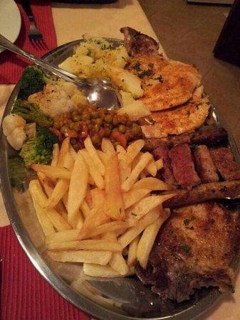 Pansion Breza: la grigliata di carne favolosa