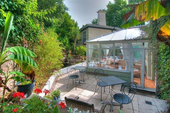 Hotel Iona Torquay : Patio Garden