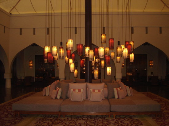 The Chedi Muscat – a GHM hotel : Main lobby at The Chedi Muscat