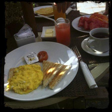 Uma Karan : Frühstück