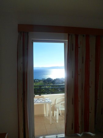Hotel Ziakis: View from room 420