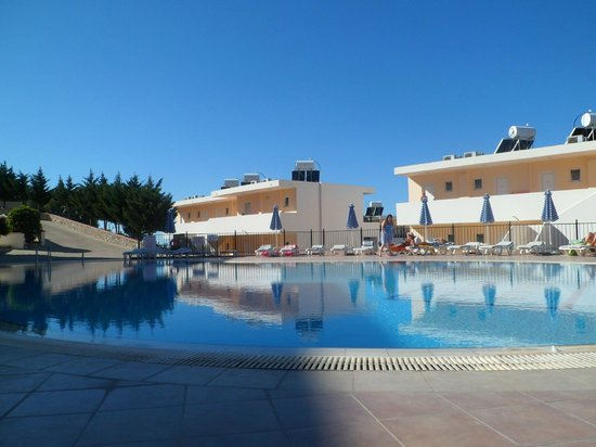 Hotel Ziakis: Pool area