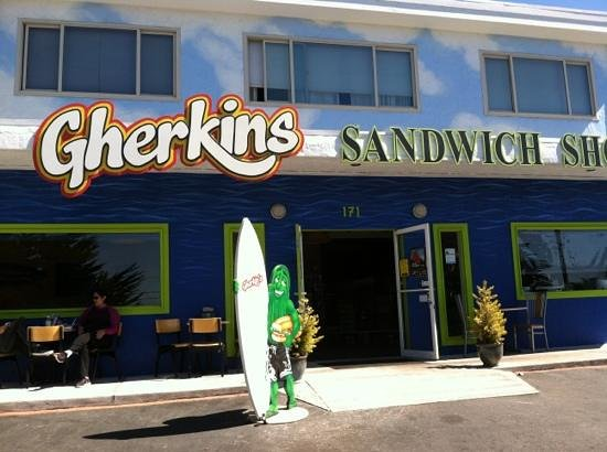 Gherkin's Sandwich Shop : Gherkin's