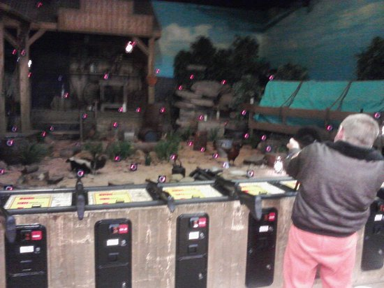 Cabela's: shooting gallery